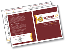 The Taxelope Brochure