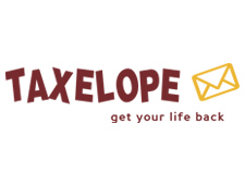 The Taxelope Logo