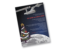 Star Trek Christmas Invitation